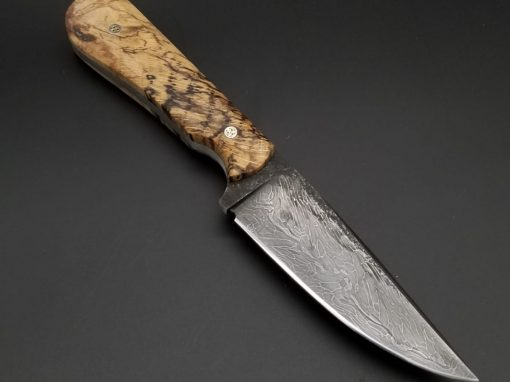 Custom Maple Hunting Knife