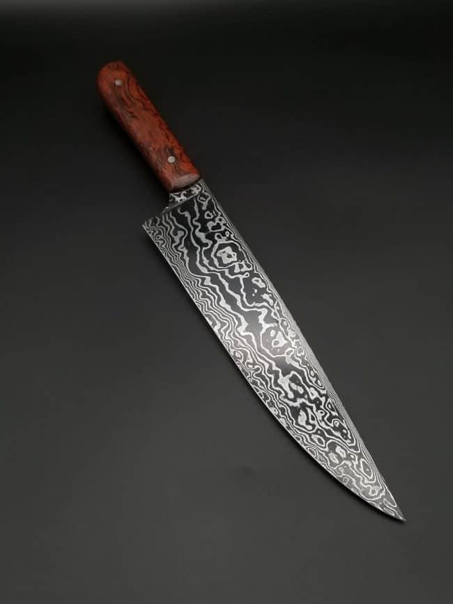 Damascus Chef Knife 2