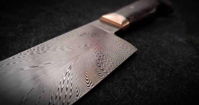 Damascus Chef Knife 4 scaled