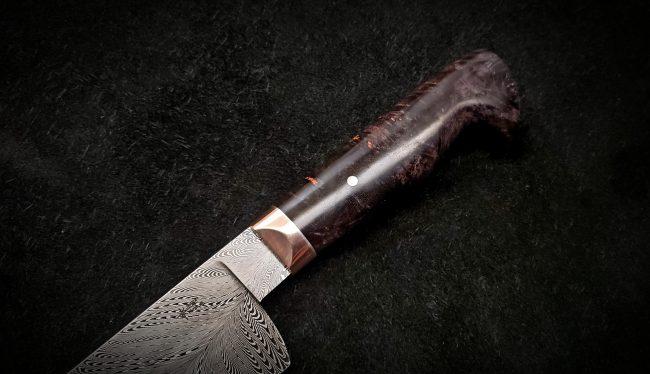 Damascus Chef Knife 5 scaled
