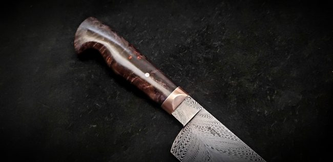 Damascus Chef Knife 6 scaled
