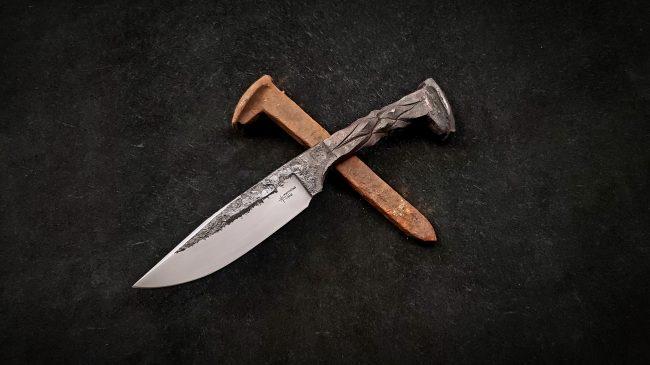 Railroad Spike Knife 1 scaled
