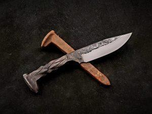 Railroad Spike Knife 2