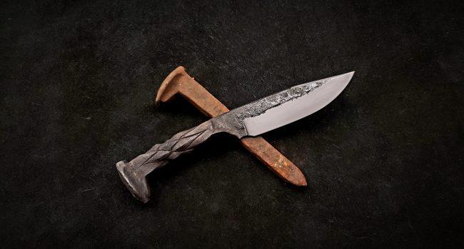 Railroad Spike Knife 2 scaled