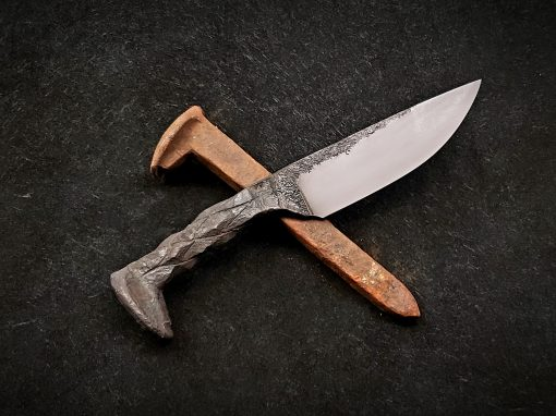 Railroad Spike Knife Class 1