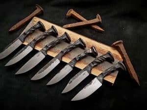Railroad Spike Knife Class