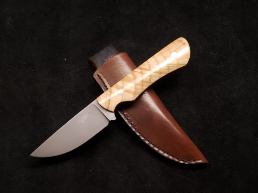 Curl Ash Hunting Knife