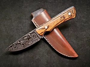 Topographical Map Damascus Hunter