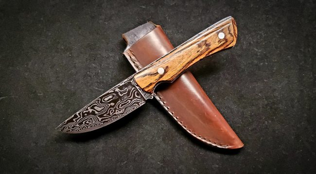 Topographical Map Damascus Hunter scaled