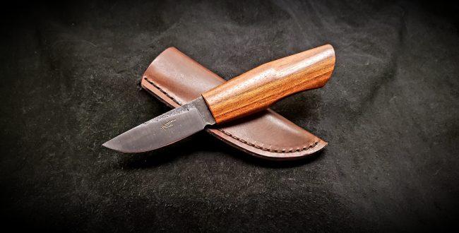 Nordic Hunter Brazilian Cherry Knife 1 scaled
