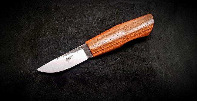 Nordic Hunter Brazilian Cherry Knife 4 scaled