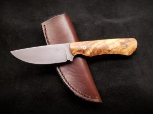 Olive Wood Hunter Knife 3