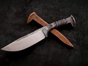 Railroad Spike Knife NSF 011