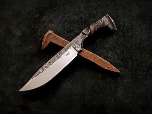 Railroad Spike Knife NSF 013